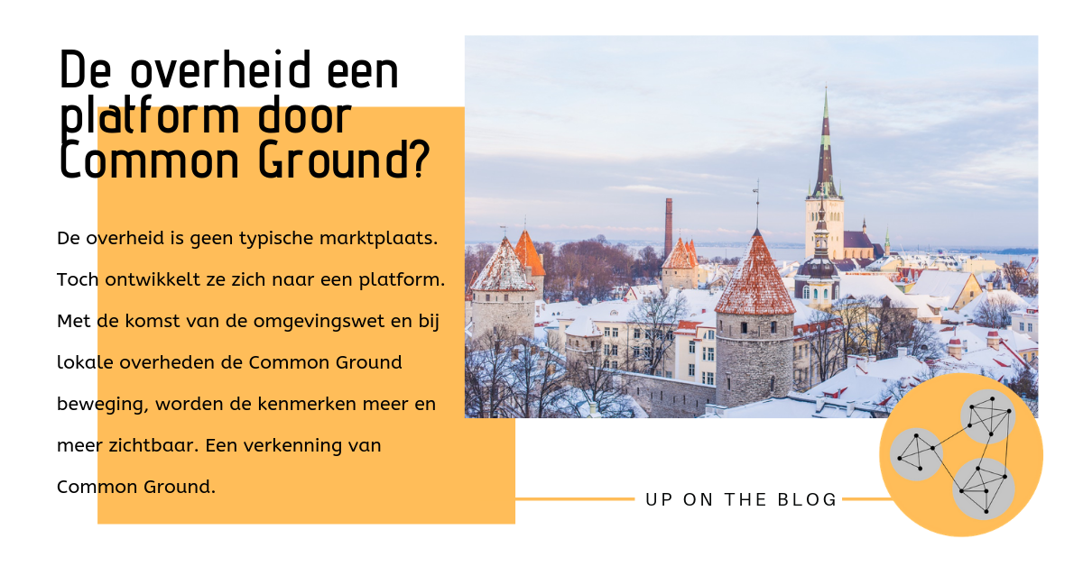 De overheid als platform via Common Ground